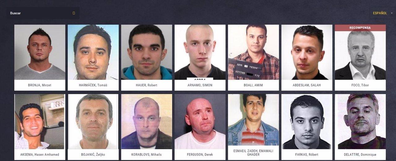 Lista de delincuentes sexuales registrados Pa