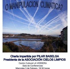 Foto: La presidenta de la Asociación Cielos Limpios analizará este miércoles el origen de las estelas (AYUNTAMIENTO)