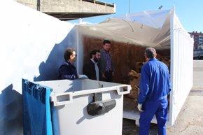 Foto: El Ayuntamiento comienza a reciclar el cartón del mercadillo de los jueves (AYTO)