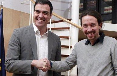 """Iglesias creu que Sánchez """"prefereix"""" un Govern espanyol amb Podem (EUROPA PRESS)"""