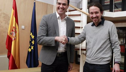 """Iglesias creu que Sánchez """"prefereix"""" un Govern espanyol amb Podem"""