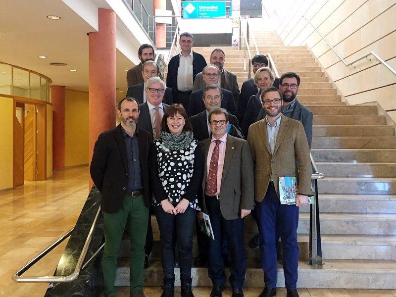 La UIB acoge la primera reunión para convertir la fachada marítima de Palma en un 'mostrador del conocimiento' balear