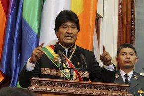 Foto: Bolivia.-  Morales niega las acusaciones de tráfico de influencias y critica que se use un tema