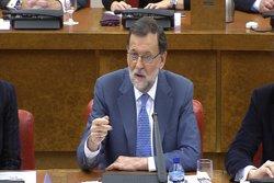 Rajoy viatja a Barcelona per primer cop des del pacte JxSí-CUP per a reunió de PP català (EUROPAPRESS)