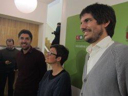 Marta Ribas i David Cid opten al colideratge d'ICV i Ernest Urtasun al càrrec de portaveu (EUROPA PRESS)