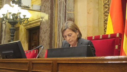 Forcadell defensa que JxSí i CUP demanin al Parlament tres lleis per a la independència