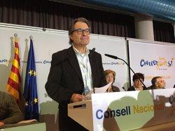 Mas impulsarà una plataforma per començar a refundar CDC i ampliar el centre català (EUROPA PRESS)