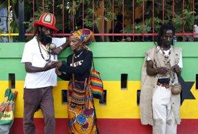 Foto: Jamaica celebra el mes del reggae (GILBERT BELLAMY / REUTERS)