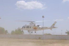 Foto: Los equipos aéreos del 061 en Huelva intervienen en 2015 en una treintena de casos (EUROPA PRESS/JUNTA DE ANDALUCÍA/Archivo)