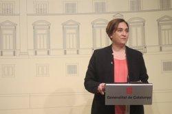 Colau demana la posada en llibertat dels dos titellaires acusats d'apologia del terrorisme (EUROPA PRESS)