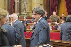 Puigdemont diu que revisaran protocol si hi ha error en el cas de l'exprofessor investigat (EUROPA PRESS)