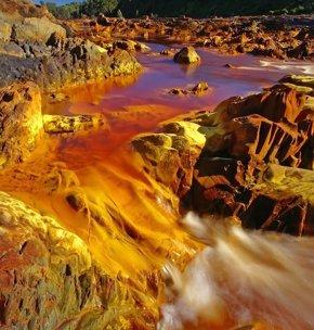 Foto: El río Tinto, protagonista en la revista 'Muy Interesante' con un amplio reportaje (EUROPA PRESS/DIPUTACIÓN HUELVA)