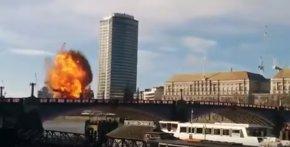 Foto: La explosión durante el rodaje de una película de Jackie Chan provoca pánico en Londres (YOUTUBE)