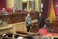 Junqueras i els consellers compareixen al Parlament a partir d'aquest dilluns (EUROPA PRESS)