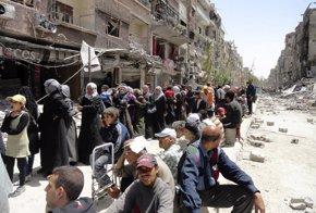 Foto: El 88 por ciento de los hogares del sur de Siria viven en la extrema pobreza (STRINGER . / REUTERS)