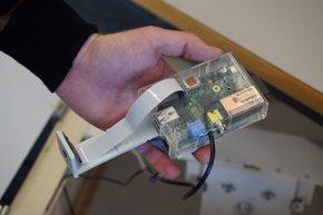 Foto: Desarrollan un prototipo para detectar gases peligrosos por cambios de color (UPV)