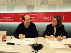 Iceta diu que les mesures del PSOE beneficien Catalunya (EUROPA PRESS)