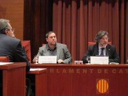 L'oposició demana a Junqueras concreció sobre la Hisenda pròpia (EUROPA PRESS)