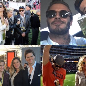 Super Bowl: David Beckham, Gisele Bündchen, Michael Douglas y muchos más