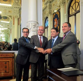 Foto: Málaga, sede del 103 consejo ejecutivo de la Organización Mundial del Turismo (EUROPA PRESS)