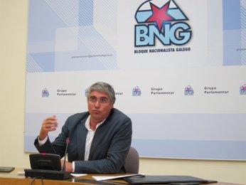 Foto: Aymerich forza que o BNG debata na asemblea crear un novo partido nacionalista e negociar coas mareas (EUROPA PRESS)