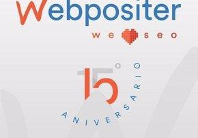 Foto: COMUNICADO: Webpositer celebra su 15 aniversario como agencia SEO pionera en España renovando su web (WEBPOSITER)