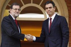 Rajoy i Sánchez es reuniran divendres al Congrés (EUROPAPRESS)