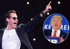 Vídeo: Marc Anthony insulta a Donald Trump en pleno concierto