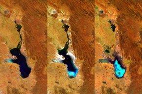 Foto: Desaparece por completo el lago Poopó, el segundo más grande de Bolivia (WWW.ESA.INT)