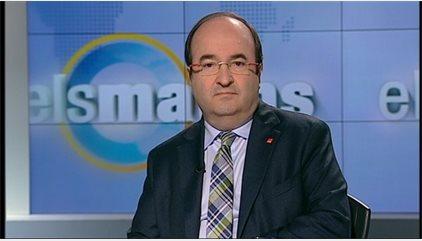 """Iceta creu que el document del PSOE és """"suficient ambigu"""" per agradar a tots"""