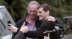 Así rodó Bertín Osborne su programa con Iker Casillas y...