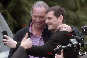 Así rodó Bertín Osborne su programa con Iker Casillas y Sara Carbonero