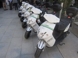 L'Ajuntament de Barcelona i Cooltra llancen un servei de lloguer de motos elèctriques (EUROPA PRESS)