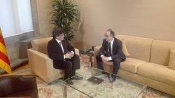 Puigdemont veu positiva la ronda de reunions amb els líders i promet
