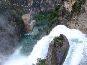 Foto: Endesa regulará el caudal del Segre en Balaguer (Lleida) para un duatlón Kayak-Cross (ENDESA)