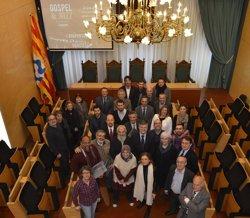 Menarini lliura els 30.000 euros del concert benèfic 'Gospel & Jazz' a tres entitats catalanes (RAFA MARIN)