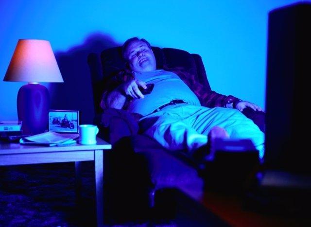 Sedentarismo, hombre, televisión
