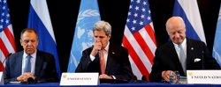 EUA i Rússia anuncien un pla d'alto el foc i lliurament d'ajuda humanitària per a Síria (MICHAEL DALDER / REUTERS)