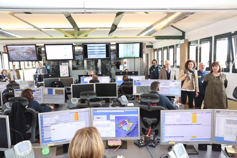 El Govern impulsa cinco proyectos de mejora del SEIB112 para modernizar y hacer más accesible el servicio