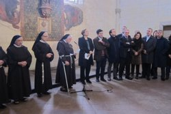 Colau garanteix la continuïtat del suport municipal al Monestir de Pedralbes (EUROPA PRESS)