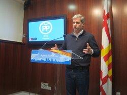 Alberto Fernández (PP) critica que el cost de l'L9 multiplica per set la previsió inicial (EUROPA PRESS)
