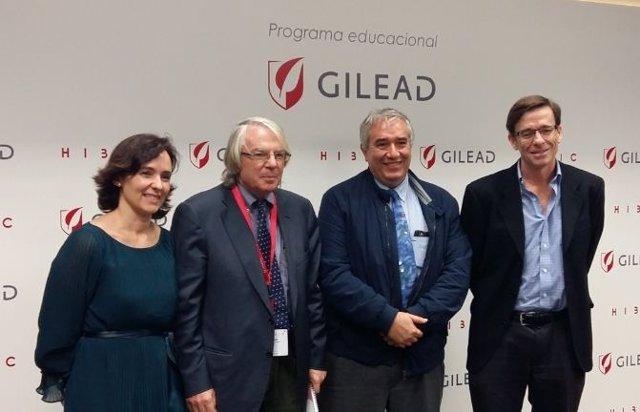 Encuentro sobre VIH organizado por Gilead
