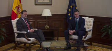 "Pedro Sánchez se ""fía"" de que economía está ""bajo control"" como le asegura Rajoy (PP)"