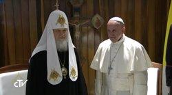 El Papa y el patriarca ruso piden proteger a los cristianos del