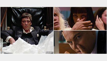 ¿Qué toman los actores en el cine cuando consumen cocaína?
