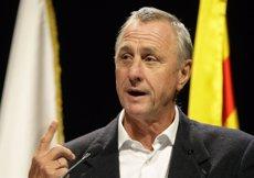 """Cruyff, sobre la seva malaltia: """"Tinc la sensació d'anar guanyant 2-0"""" (REUTERS)"""