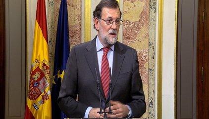 Rajoy, disposat a sotmetre's a la votació d'investidura si Sánchez fracassa