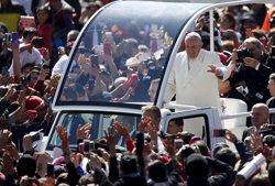 México.- Un detenido tras amenazar con atentar contra el Papa en la Ciudad de México (EDGARD GARRIDO / REUTERS)
