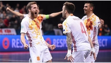 España, campeón de Europa por séptima vez tras derrotar a Rusia