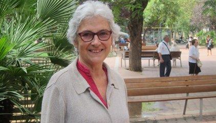 Mor Muriel Casals, diputada de JxSí i expresidenta d'Òmnium Cultural